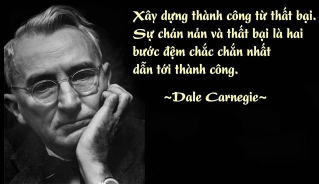 quang ganh lo di va vui song Dale Carrnegie