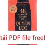 48 nguyen tac chu chot cua quyen luc PDF