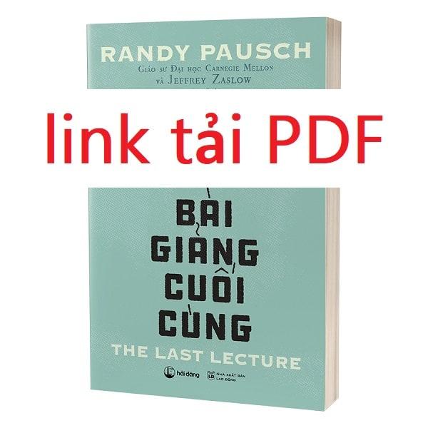 bai giang cuoi cung pdf