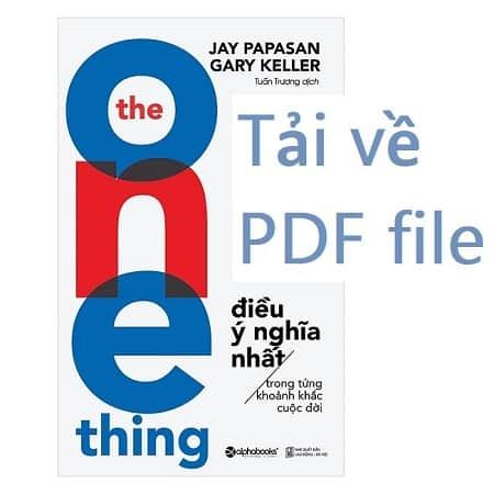 dieu y nghia nhat PDF