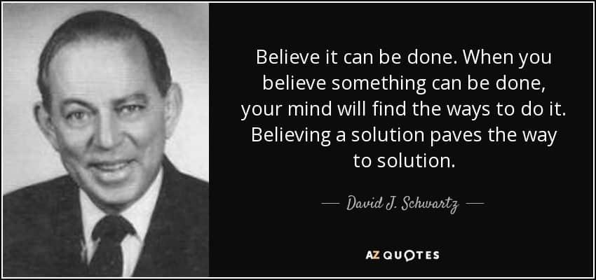 quotes hay cua David J. Schwartz Ph.D