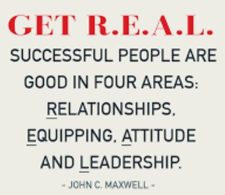 r.e.a.l cua John C. Maxwell