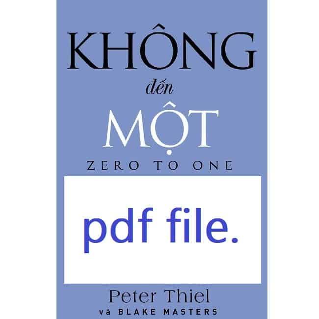 sach khong den mot pdf