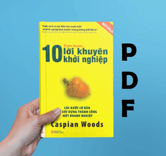 10 loi khuyen khoi nghiep pdf