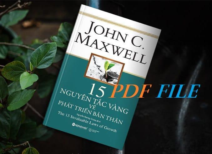 15 nguyen tac vang ve phat trien ban than pdf