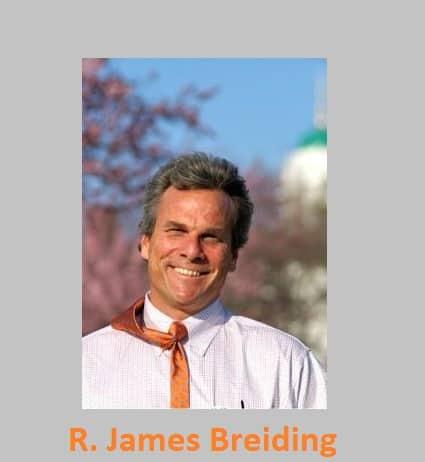 R James Breiding