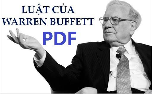 luat cua warren buffett pdf
