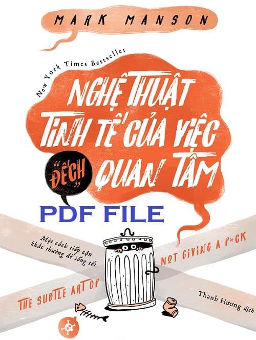 nghe thuat tinh te cua viec dech quan tam pdf