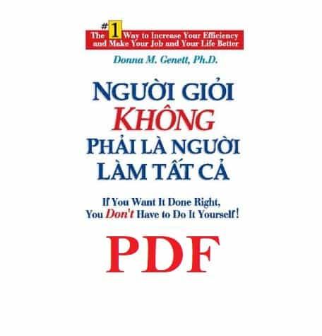 nguoi gioi khong phai la nguoi lam tat ca pdf