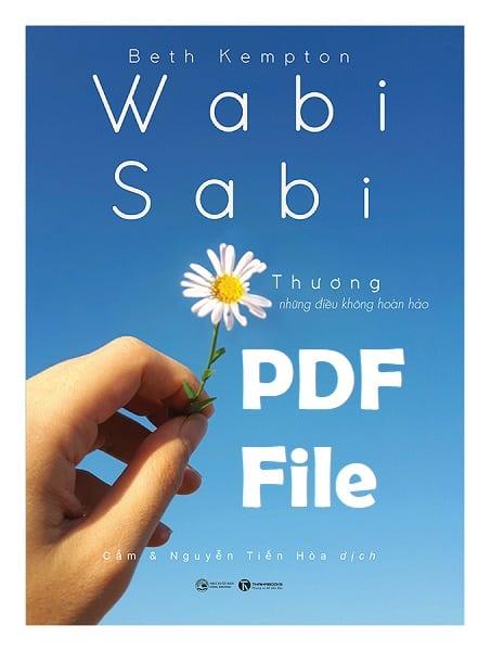 wabi sabi thuong nhung dieu khong hoan hao pdf