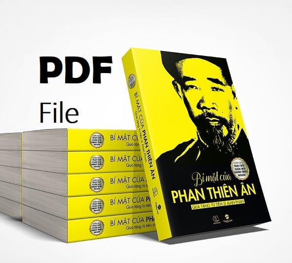 bi mat cua phan thien an pdf
