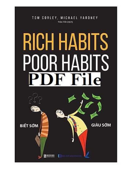 rich habits poor habits pdf
