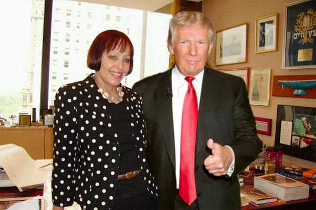 Meredith McIver and donald trump