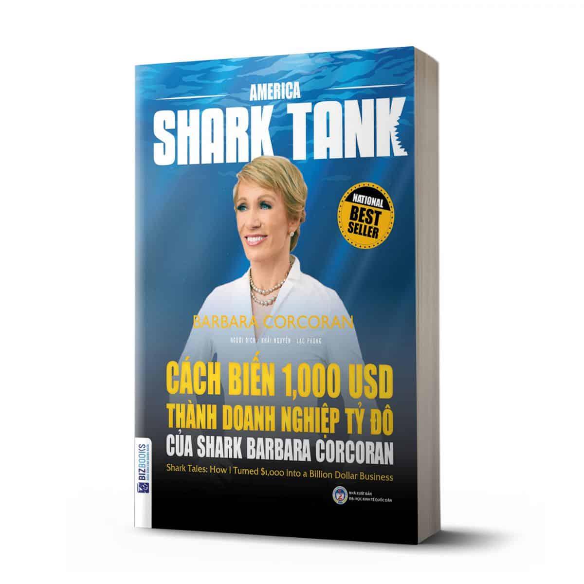 america shark tank cach bien 1000 usd thanh doanh nghiep ty do cua shark Barbara corcoran
