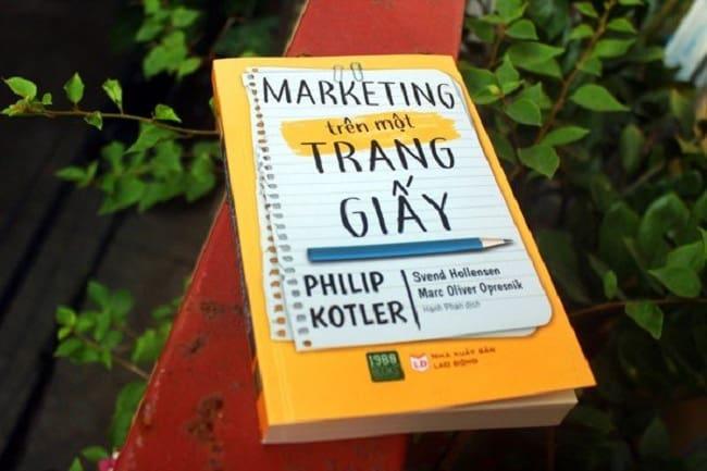marketing tren mot trang giay