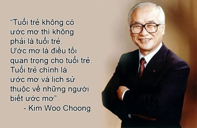 tac gia Kim Woo Choong