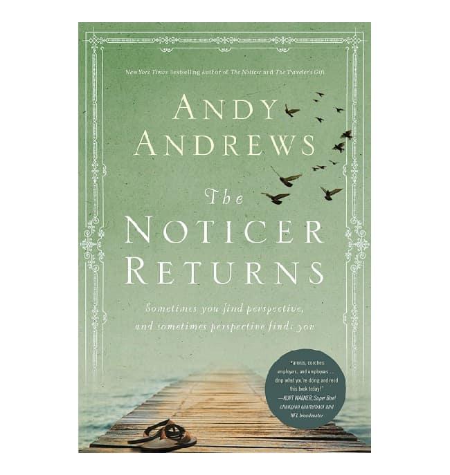 the noticer returns book